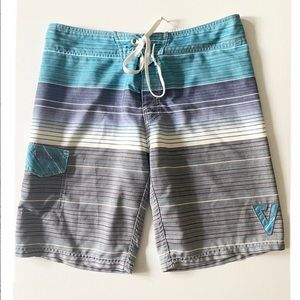 Valor Board Shorts Striped